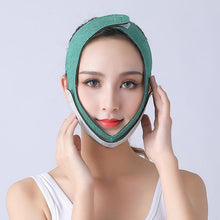 Load image into Gallery viewer, Face V Shaper Facial Slimming Bandage Relaxation Face Thining Band Massage Lift Up Belt Shape Lift Reduce Double Chin - SaturnLoop Shops Sales