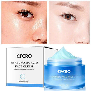 EFERO Hyaluronic Acid Anti-Wrinkle Cream Moisturizing Oil Control Anti-aging Shrink Pore Whitening Firming Smooth Face Skin Care - SaturnLoop Shops Sales