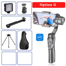 Load image into Gallery viewer, Orsda APP H4 3-axis gimbal stabilizer Gopro camera stabilizer shandheld selfie stick Tripod for smartphone connection Bluetooth