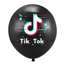 Load image into Gallery viewer, Sexy Guitar Saxophone Foil Balloons Music tik-tok team Theme Carnival Party Supplies Inflatable Ballons Kids Toy Birthday Ballon