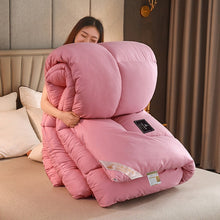 Load image into Gallery viewer, New soy fiber quilt core, spring autumn quilt winter sanding, thickening comforter, warm winter blanket twin queen king size