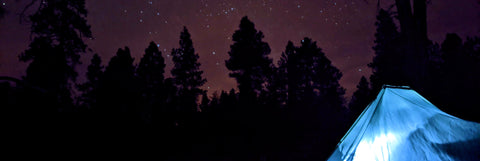 Camping under the stars on the Arizona Trail