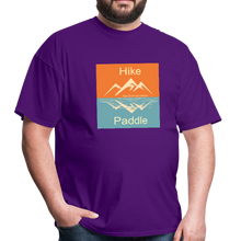 Load image into Gallery viewer, Hike Paddle KZO Unisex Classic T-Shirt - purple