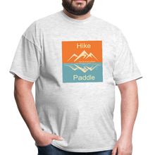 Load image into Gallery viewer, Hike Paddle KZO Unisex Classic T-Shirt - light heather gray
