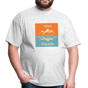 Hike Paddle KZO Unisex Classic T-Shirt - light heather gray