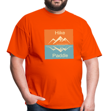 Load image into Gallery viewer, Hike Paddle KZO Unisex Classic T-Shirt - orange