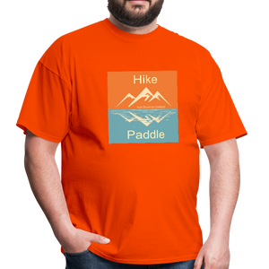 Hike Paddle KZO Unisex Classic T-Shirt - orange
