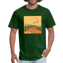 Load image into Gallery viewer, Explore Men's T-Shirt - forest green