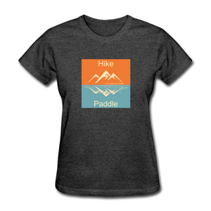 Hike - Paddle KZO Women's T-Shirt - heather black