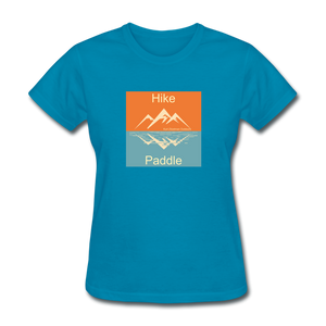 Hike - Paddle KZO Women's T-Shirt - turquoise