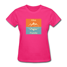 Load image into Gallery viewer, Hike - Paddle KZO Women's T-Shirt - fuchsia