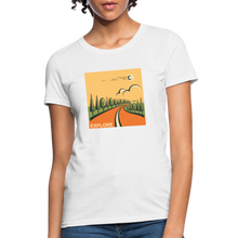 Load image into Gallery viewer, Explore Women's T-Shirt - white