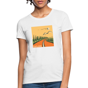 Explore Women's T-Shirt - white