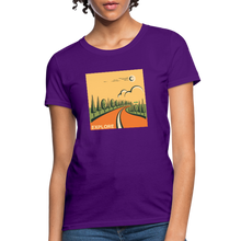 Load image into Gallery viewer, Explore Women's T-Shirt - purple