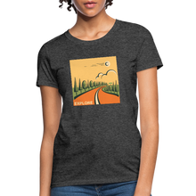 Load image into Gallery viewer, Explore Women's T-Shirt - heather black