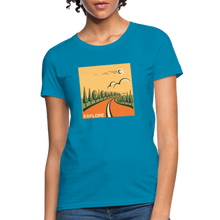 Load image into Gallery viewer, Explore Women's T-Shirt - turquoise