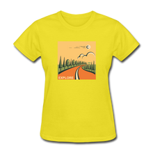 Load image into Gallery viewer, Explore Women's T-Shirt - yellow