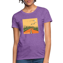 Load image into Gallery viewer, Explore Women's T-Shirt - purple heather