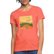 Load image into Gallery viewer, Explore Women's T-Shirt - heather coral