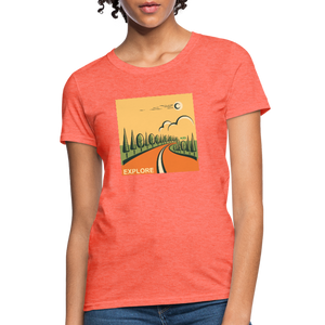 Explore Women's T-Shirt - heather coral