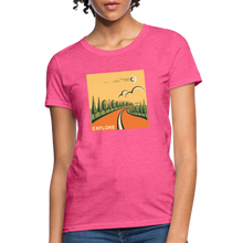 Load image into Gallery viewer, Explore Women's T-Shirt - heather pink
