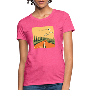Explore Women's T-Shirt - heather pink