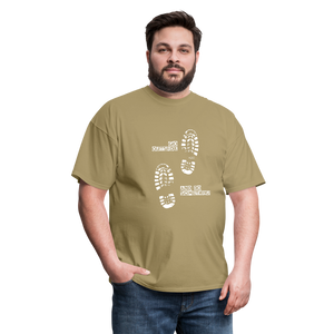 Go Outside and Do Something Men's T-Shirt - khaki