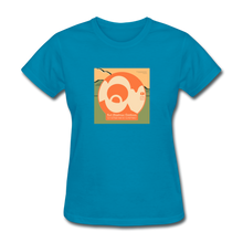 Load image into Gallery viewer, KZO Big Dumb Face Women's T-Shirt - turquoise