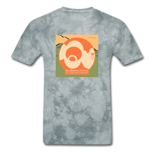 Load image into Gallery viewer, KZO Big Dumb Face Men's T-Shirt - grey tie dye