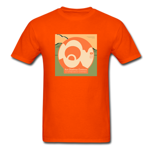 KZO Big Dumb Face Men's T-Shirt - orange