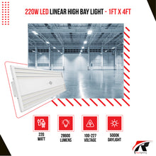 Load image into Gallery viewer, 220W Linear High Bay Light