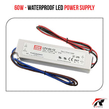Load image into Gallery viewer, 60W Water proof LED Power Supply