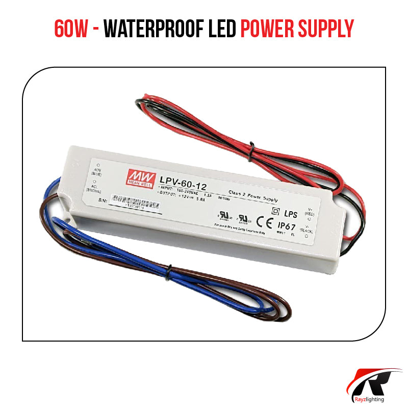 60W Water proof LED Power Supply