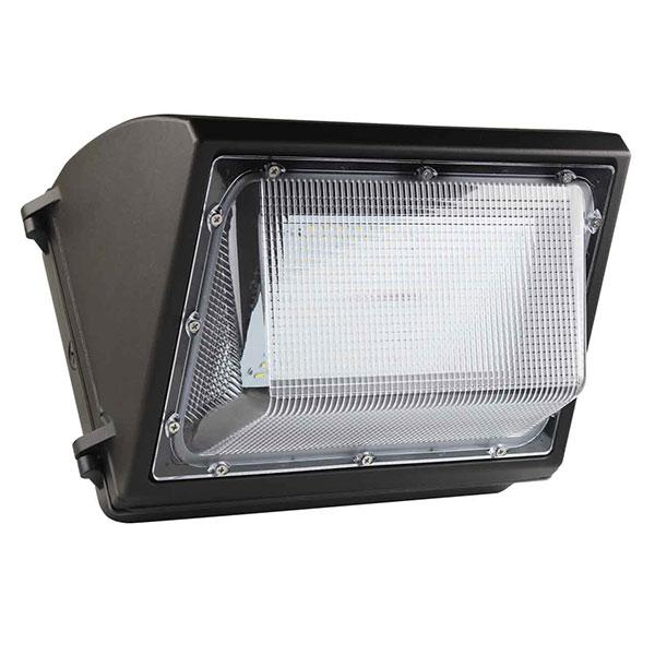 LED Outdoor Commercial Wall Pack 80w, 5000k, 9,600 LM, IP65, Replace 500w Metal Halide, Wall Mount, UL, cUL, DLC - Rayz lighting INC 00