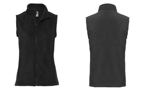 Women's outdoor fleece gilet 8720F