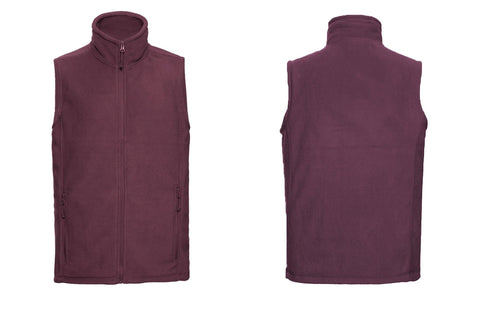 Outdoor fleece gilet 8720M