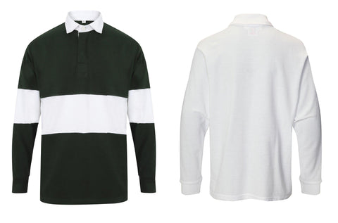 Panelled rugby shirt FR07M