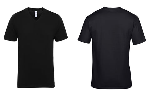 Premium Cotton® adult v-neck t-shirt GD016
