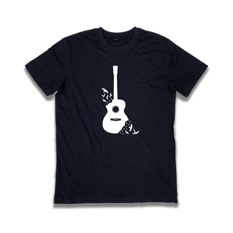 Guitar Bird Freedom T-Shirt