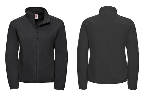 Women's full-zip fitted microfleece J883F