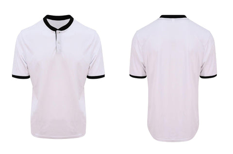 Cool stand collar sports polo JC044