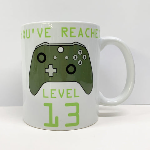 Personalised Gaming Mug
