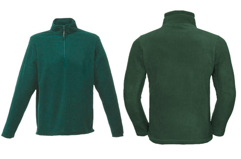 Zip-neck microfleece RG134