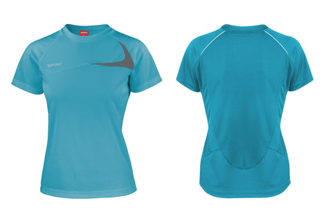 Women's Spiro dash training shirt S182F