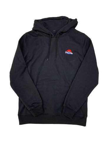 Brian's Skyline Embroidered Hoodie