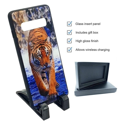 Premium Glass Samsung Phone Case
