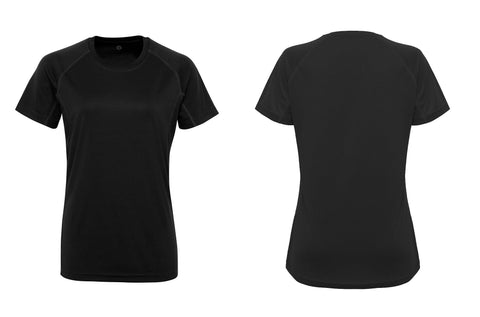 Women's TriDri® panelled tech tee TR021