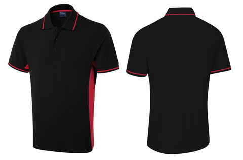 Two Tone Polo Shirt UC117