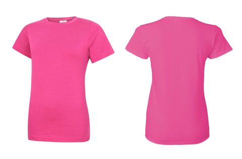 Ladies Classic Crew Neck T-Shirt UC318