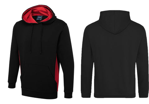 Two Tone Hooded Sweatshirt UC517